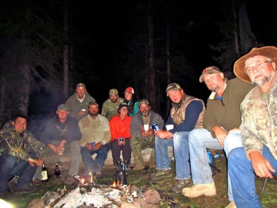Us with Sean's Elk Party